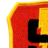Marine 3rd Division 9th Regiment Patch | Upper Left Quadrant