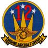 MAG-12 Marine Aircraft Group Twelve Patch