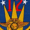 MAG-12 Marine Aircraft Group Twelve Patch | Center Detail
