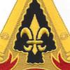 54th Field Artillery Brigade patch DUI | Center Detail