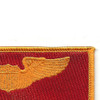 Pilot Wings Air Force Patch Gold And Red | Upper Right Quadrant