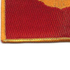 Pilot Wings Air Force Patch Gold And Red | Lower Left Quadrant