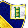54th Infantry Regiment Patch   Upper Right Quadrant