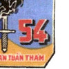 54 Naval River Patrol Group Fifty-four Patch | Lower Right Quadrant