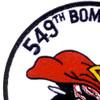 549th Bomb Squadron Patch | Upper Left Quadrant