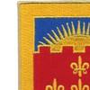 549th Armored Field Battalion Patch | Upper Left Quadrant