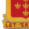 549th Armored Field Battalion Patch | Lower Left Quadrant