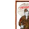 Paratrooper Soldier Patch   Upper Left Quadrant