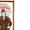 Paratrooper Soldier Patch   Upper Right Quadrant