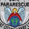 Pararescue Jumper Patch So Others May Live Hook and Loop Version | Center Detail