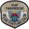 Pararescue Jumper Patch Desert Version