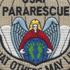Pararescue Jumper Patch Desert Version | Center Detail