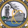 Naval Submarine Base New London Groton Connecticut Patch | Center Detail