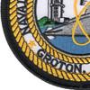 Naval Submarine Base New London Groton Connecticut Patch | Lower Left Quadrant