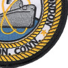 Naval Submarine Base New London Groton Connecticut Patch | Lower Right Quadrant