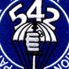 542nd Parachute Infantry Battalion Patch   Center Detail