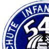 542nd Parachute Infantry Battalion Patch   Upper Left Quadrant