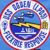 LPD-5 USS Ogden Patch | Center Detail