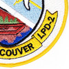 LPD-2 USS Vancouver Patch | Lower Right Quadrant