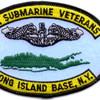Long Island Veterans Submarine Base Patch   Center Detail