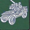 541st Reconnaissance Cavalry Battalion Patch | Center Detail