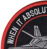 Lockheed F-117 Nighthawk Stealth Fighter Team Patch | Upper Left Quadrant
