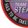 Lockheed F-117 Nighthawk Stealth Fighter Team Patch | Lower Left Quadrant