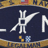 LN Deck Rating Legalman Patch | Center Detail