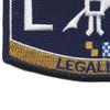 LN Deck Rating Legalman Patch | Lower Left Quadrant