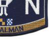 LN Deck Rating Legalman Patch | Lower Right Quadrant