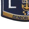 LNCS Senior Chief Legalman Patch   Lower Left Quadrant