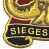 53rd Transportation Battalion Patch | Lower Left Quadrant