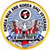 Korea War And Korea DMZ Veterans Association Patch