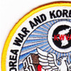 Korea War And Korea DMZ Veterans Association Patch | Upper Left Quadrant