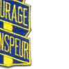 53rd Infantry Regiment Patch Courage Sanspeur   Lower Right Quadrant