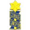 53rd Infantry Regiment Patch Courage Sanspeur