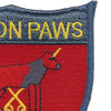 K-9 Hell On Paws Vietnam Patch | Upper Right Quadrant