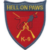 K-9 Hell On Paws Vietnam Patch
