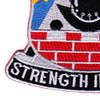 53rd Infantry Brigade Combat Team Special Troops Battalion Patch STB-52 | Lower Left Quadrant