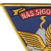 Naval Air Station Sigonella Patch | Upper Left Quadrant