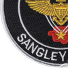 Naval Air Station Sangley Point Patch - Philippines | Lower Left Quadrant