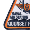 Naval Air Station Quonset Point Rhode Island Patch | Lower Left Quadrant