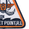 Naval Air Station Quonset Point Rhode Island Patch | Lower Right Quadrant