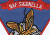 Naval Air Facility Sigonella Sicily Italy Patch