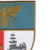Naval Air Facility Naples Italy Patch | Upper Right Quadrant