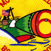 Mtbron-6 Motor Torpedo Boat Squadron 6 Patch | Center Detail