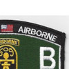 509th Airborne Infantry Regiment 12th Battalion MOS Patch | Upper Right Quadrant