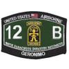 12B Combat Engineer - 509th Airborne Infantry Regiment Patch