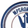 MPSRON 1 Maritime Prepositioning Ship Squadron One Patch   Upper Left Quadrant