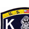 MOS K-9 Team Navy Patch | Upper Left Quadrant